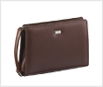 Leather men's pouch